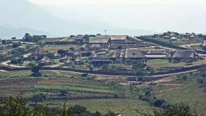 Nkandla homestead of President Jacob Zuma