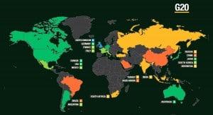 Defence anti-corruption index - G20