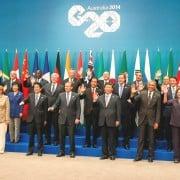 G20 leaders in Brisbane, 2014