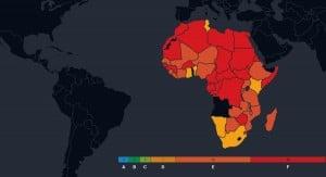 Defence corruption risk in Africa