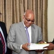 Handover of arms deal report to Jacob Zuma