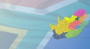South Africa - municipal boundaries