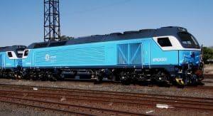 Prasa Afro 4000 locomotive