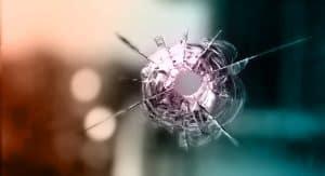 Bullet hole, corruption kills