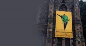 Marikana Man in the Green Blanket
