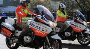 Johannesburg metro police officers