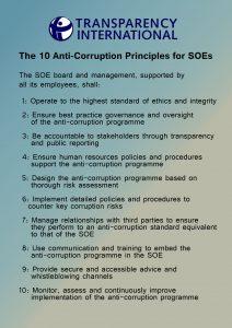 Transparency International 10 SOE principles