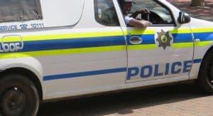 South African police van