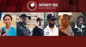 Integrity Idol SA 2018 finalists