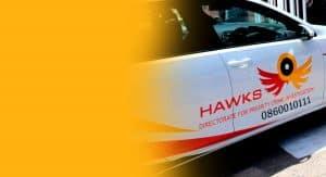 Hawks official motor vehicle