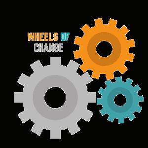 Wheels of Change cycling team logo