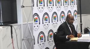Finance minister Nhlanhla Nene at the Zondo COmmission