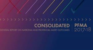 PFMA audit outcomes 2017/2018